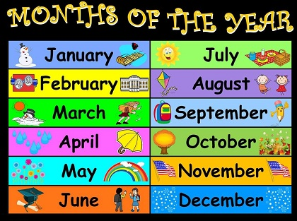 12 MONTHS OF THE YEAR - THE LEARNING STATION 歌词